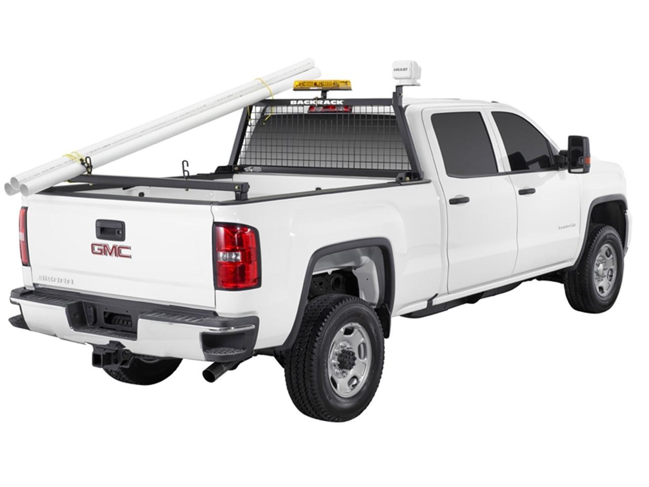 https leonardaccessories com product backrack truck bed rear bar headache racks