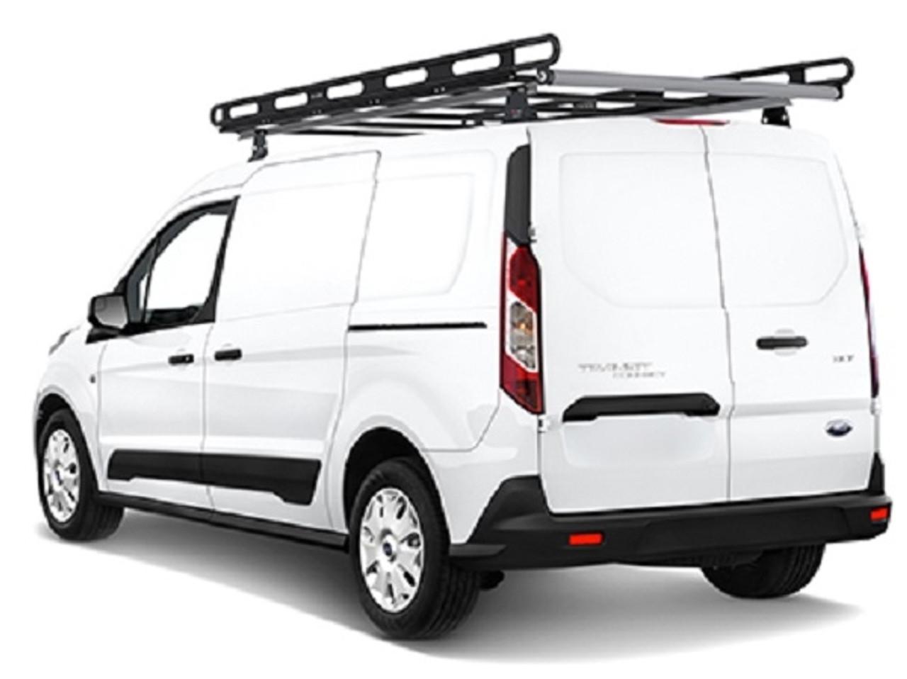 https leonardaccessories com product van ladder racks vantech h2 aluminum roof rack ford transit connect vans