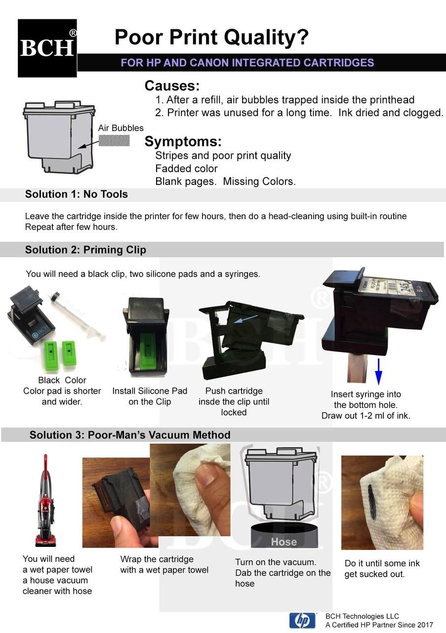 first timer inkjet printer refill kit for pg 260 cl 261 cartridges ez30 t260