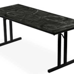 Southern Aluminum Sa3072 Swirl Folding Table 30x72 L Affordable Tables Southern Aluminum Products