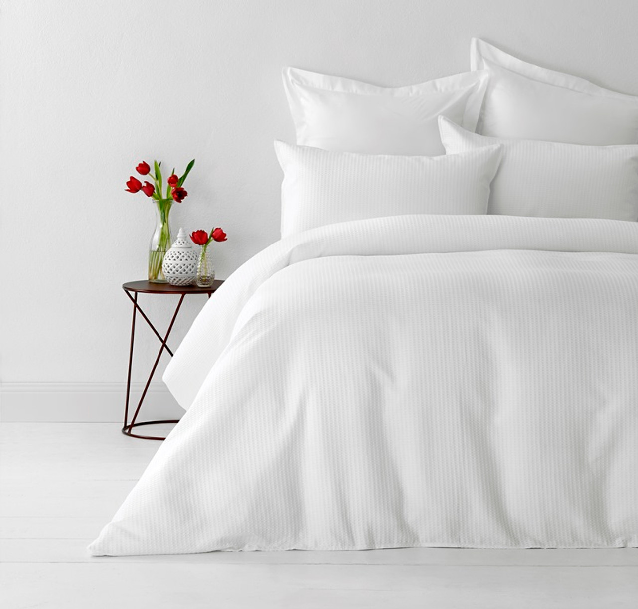 white king quilt cover set cotton waffle weave by in 2 linen