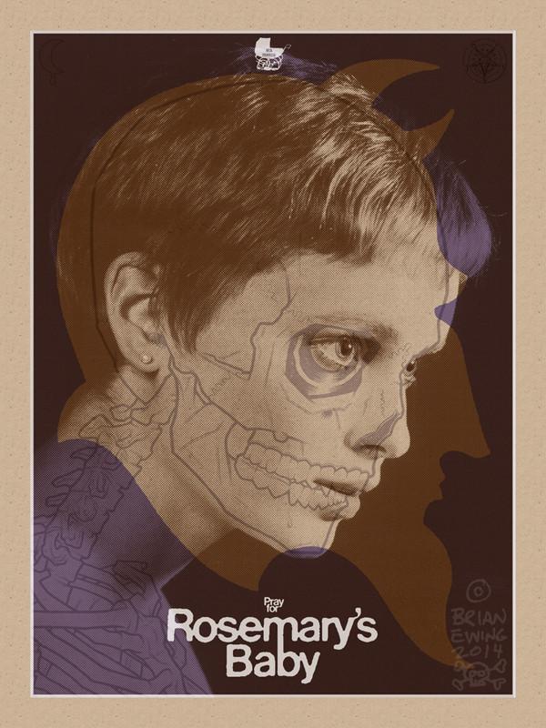 """ ROSEMARY'S BABY"" variant artist proof"