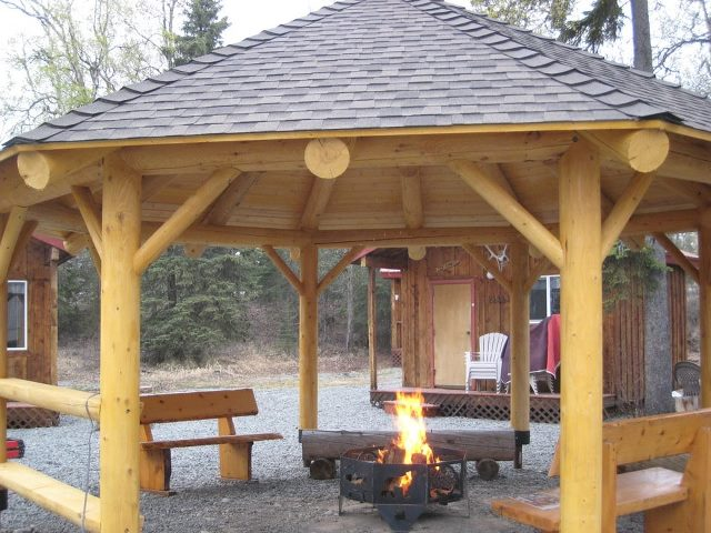 Fire Pit Safety With A Gazebo Or Pergola The Fire Pit Store