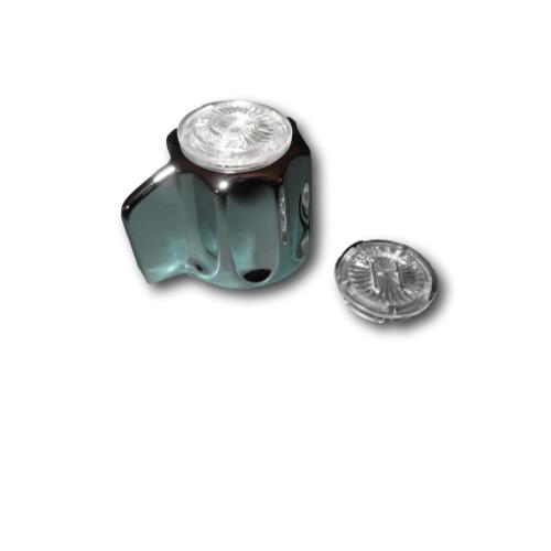 gerber 98 904 classics handle assembly for g0749251 tub shower faucet chrome