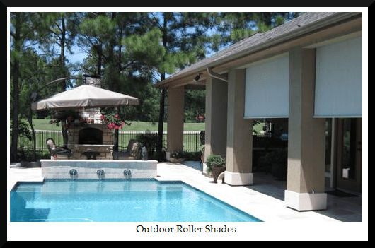 automated and motorized patio shades in