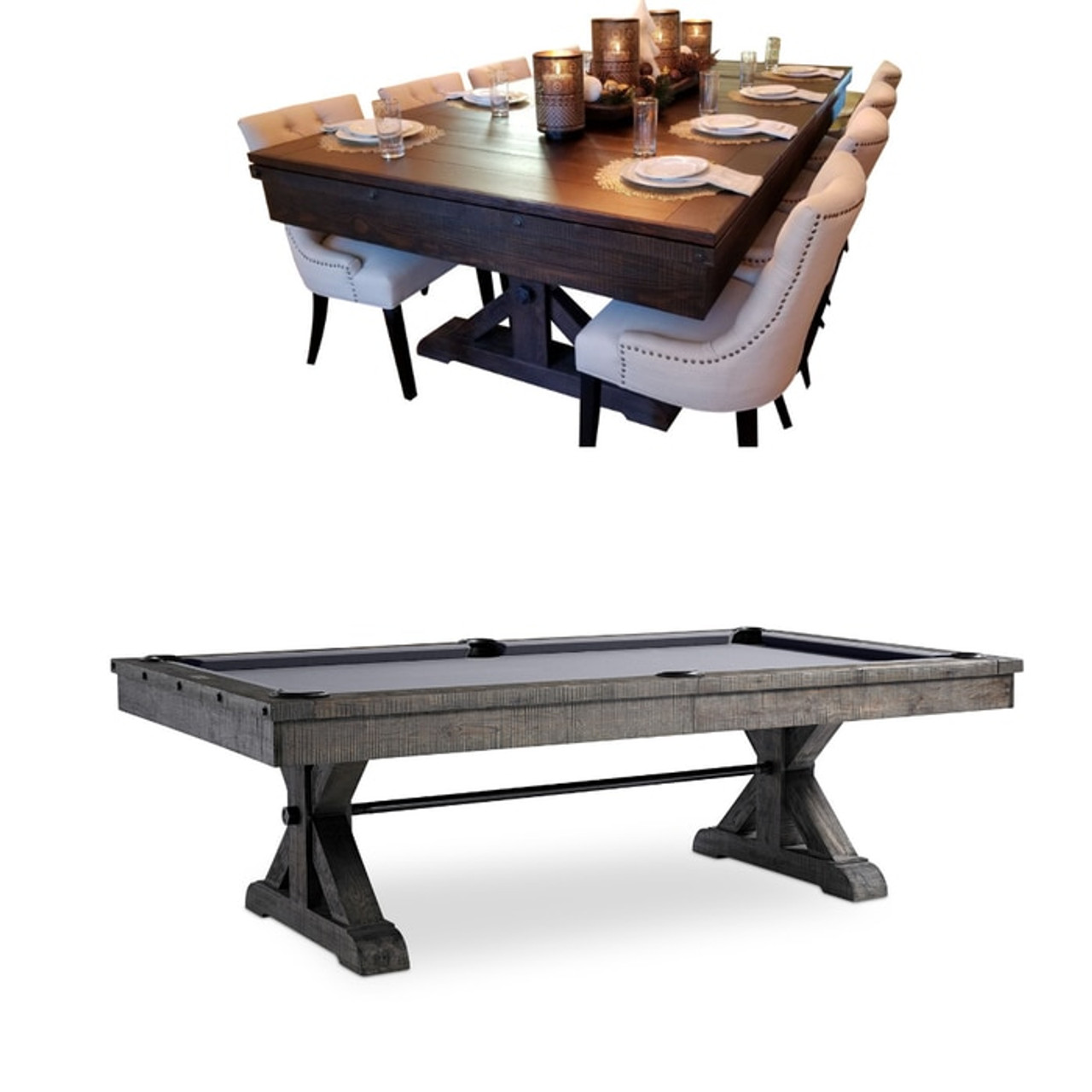 Pool Table Top Otis Table With Dining Option Sawyer Twain