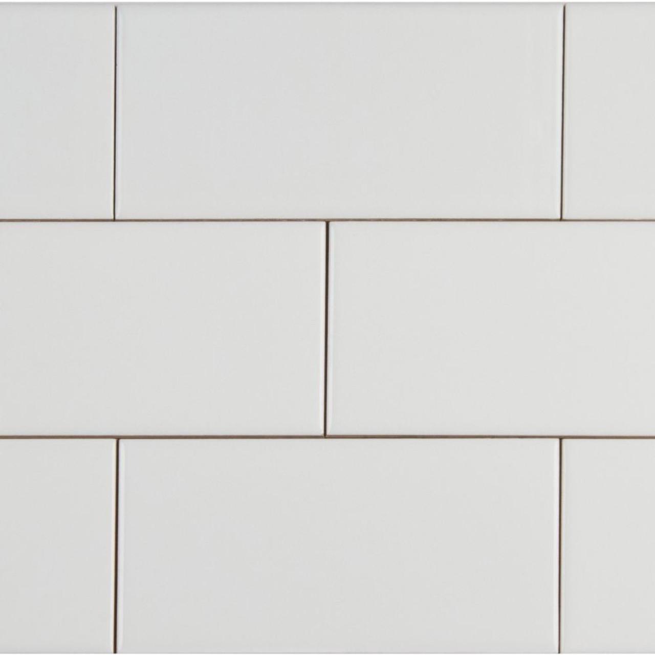 ms international backsplash series domino white 4x16 glossy subway tile nwhiglo4x16