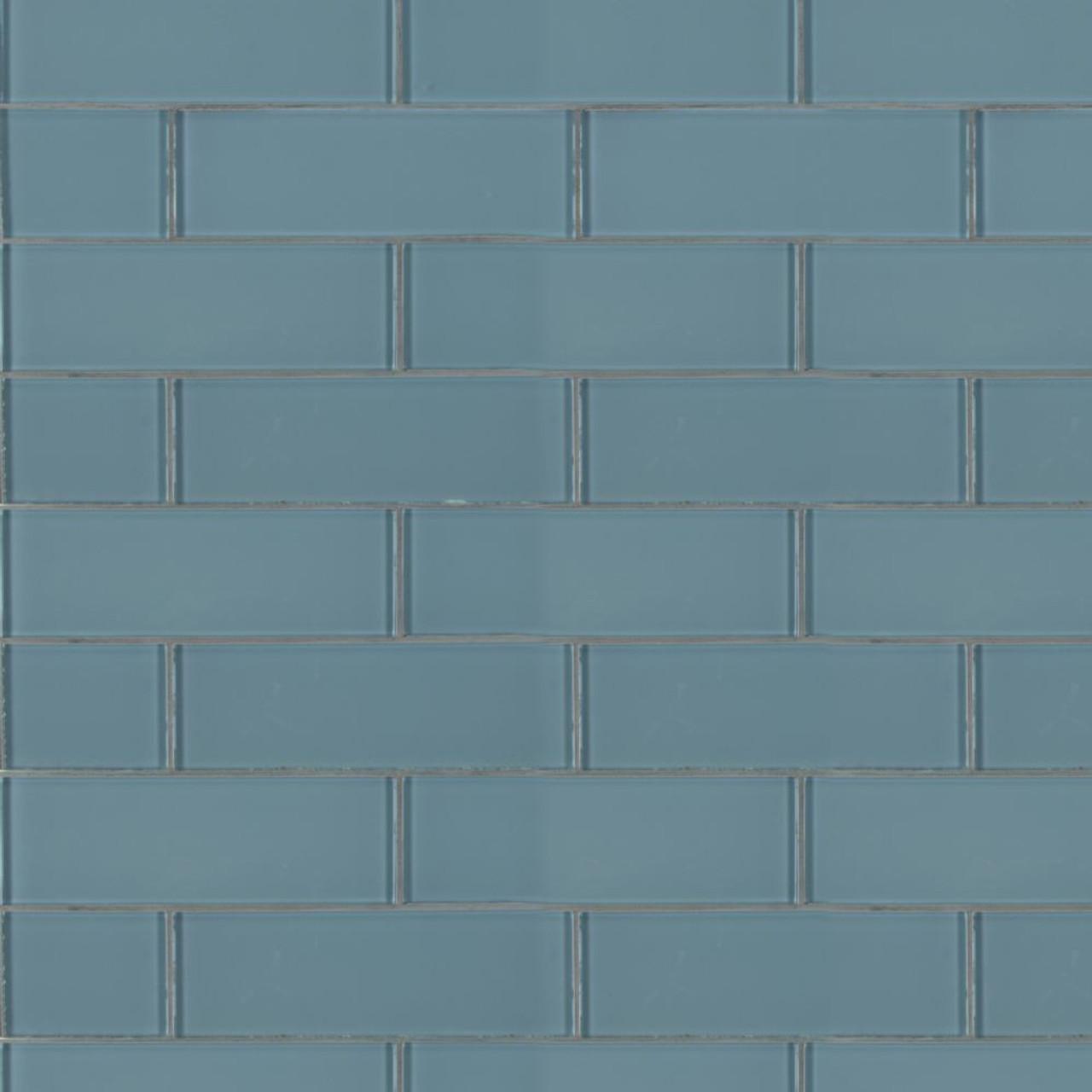 ms international glass tile series harbor gray 3x9 backsplash glass subway tile smot gl t hagr39