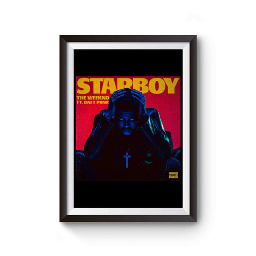 the weeknd starboy poster poster