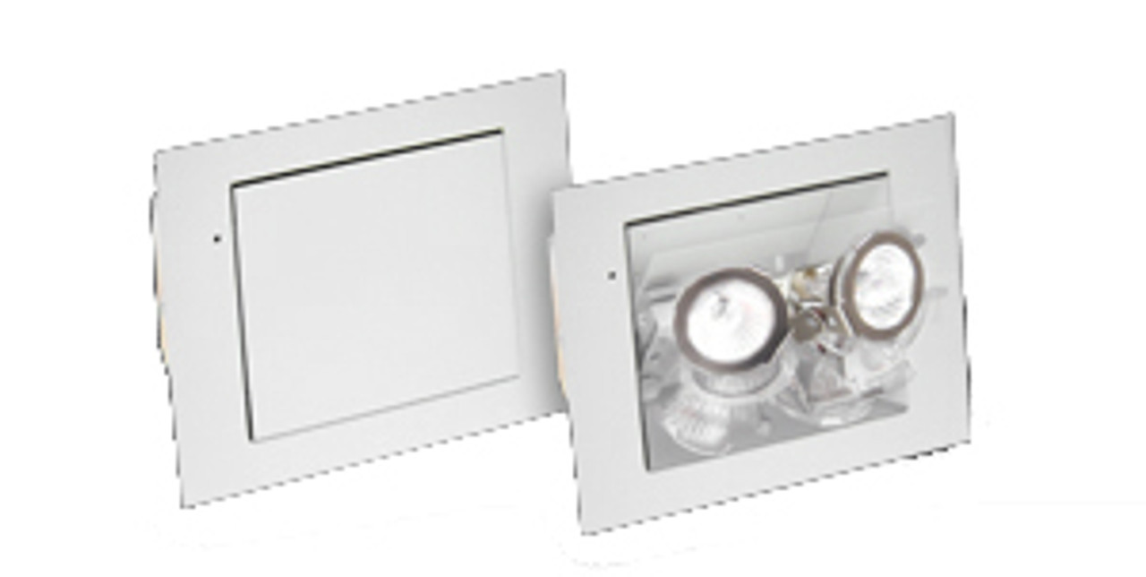 flush mount recessed emergency light with nicad battery battery