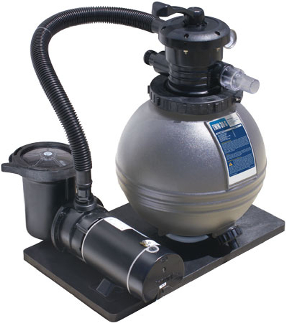 Best bang for the buck: Waterways 16 Sand Filter System With 1 2 Hp Fully Rated Pool Pump Includes Intex Adapter Fittings For Intex Poolss National Discount Pool Supplies