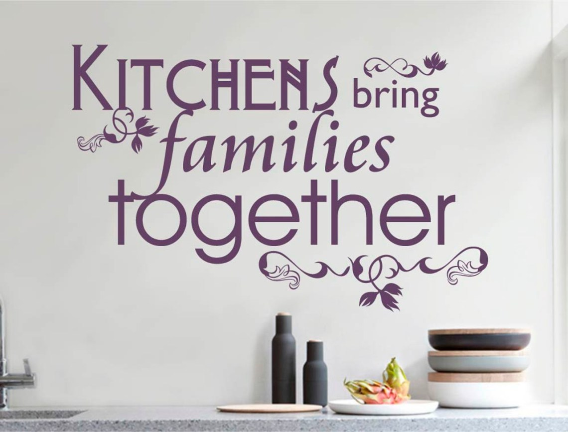 Shop Kitchen Wall Stickers Buy 2 3 For 10 15 Off