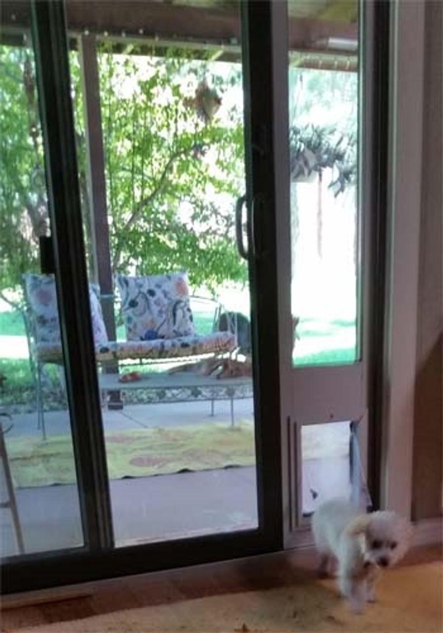 sb standard patio pet door insert
