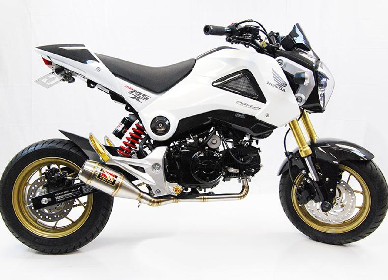 competition comp werkes wh125 full exhaust honda grom msx 125
