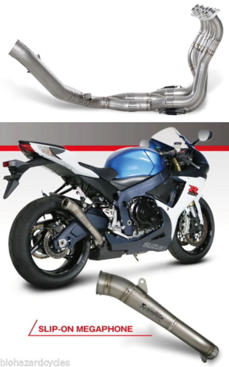 akrapovic titanium gp full exhaust system gsxr600 gsxr750 11 19