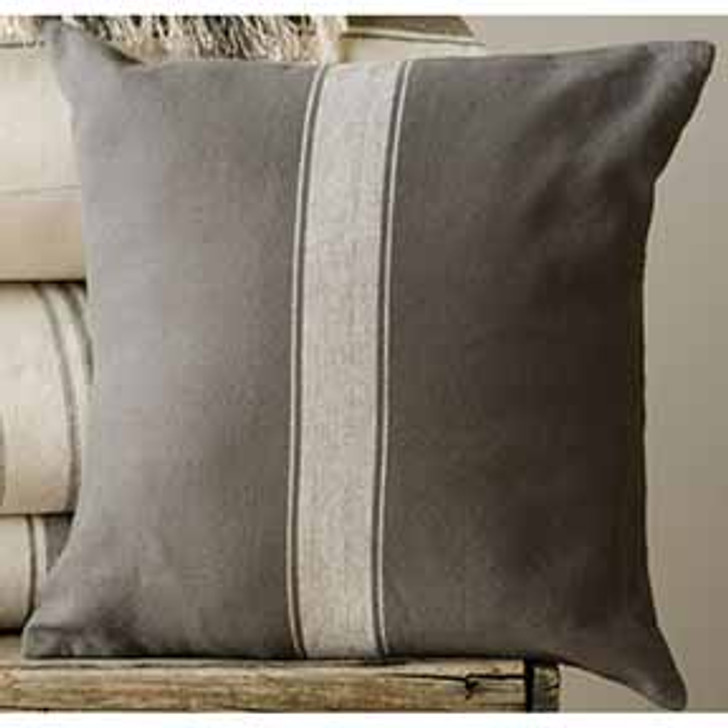 grain sack pillow cover square