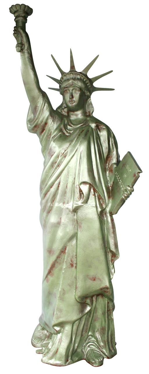 Statue Of Liberty Garden Statue Art Sculpture Bronze Color Recycled Cast Aluminum Art Sanyork Fair Trade