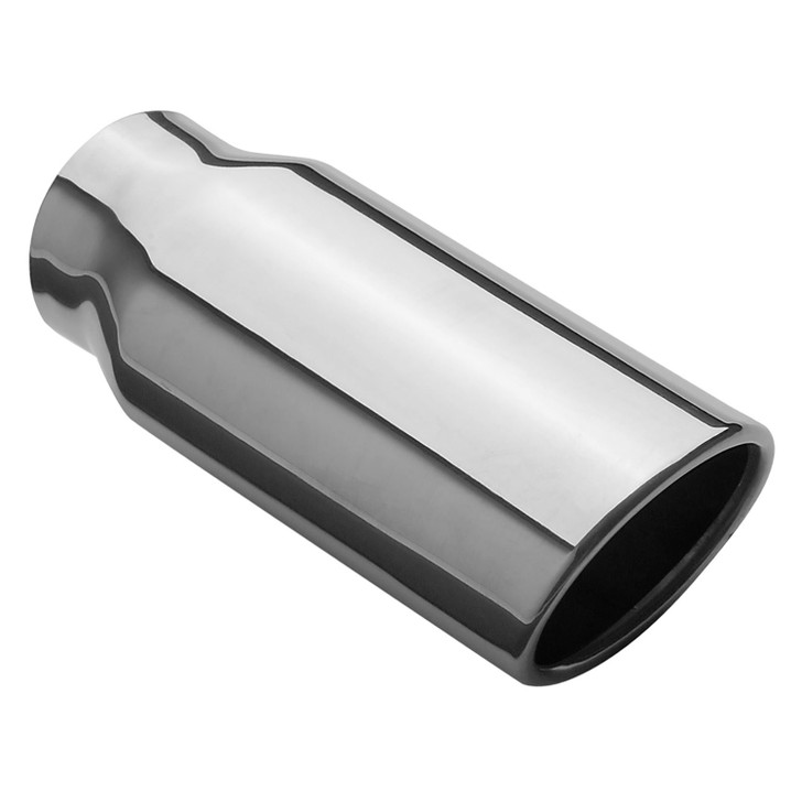 2 5 x 3 2 inch oval 304 stainless magnaflow exhaust tip tail pipe 35129