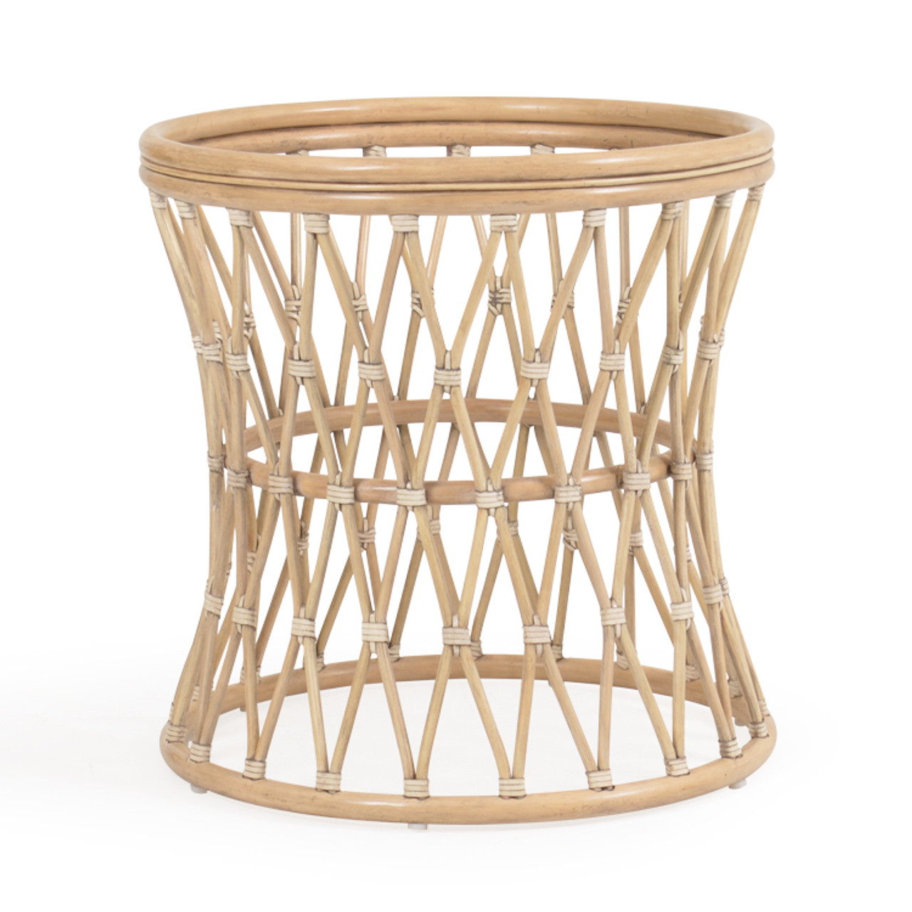 tortuga rattan round dining table base only
