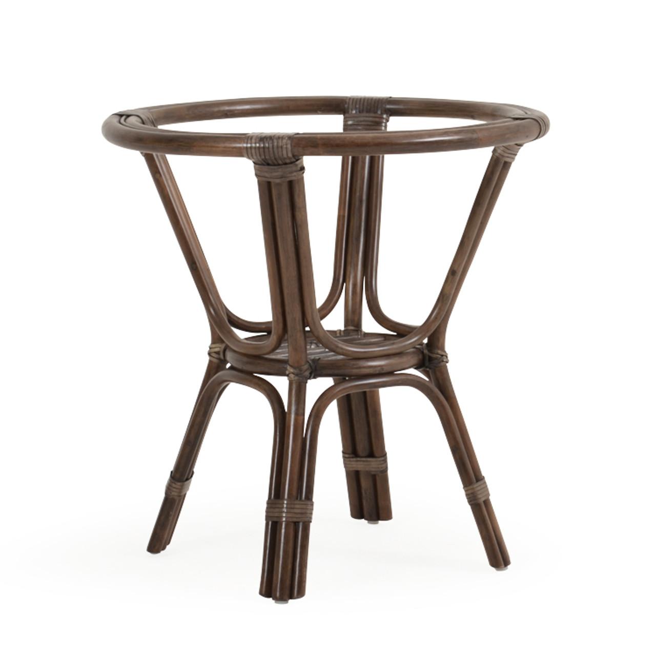 islamorada indoor rattan round dining table base