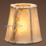 Rustic Rawhide Chandelier Lamp Shades 4 Mission Del Rey Southwest