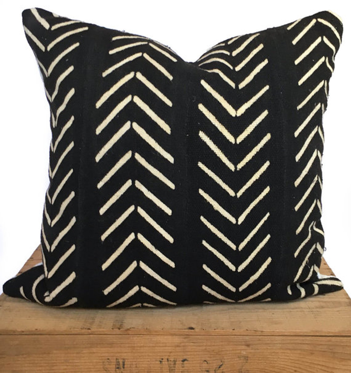 mudcloth pillow cover african mud cloth authentic mud cloth pillow black white catherine