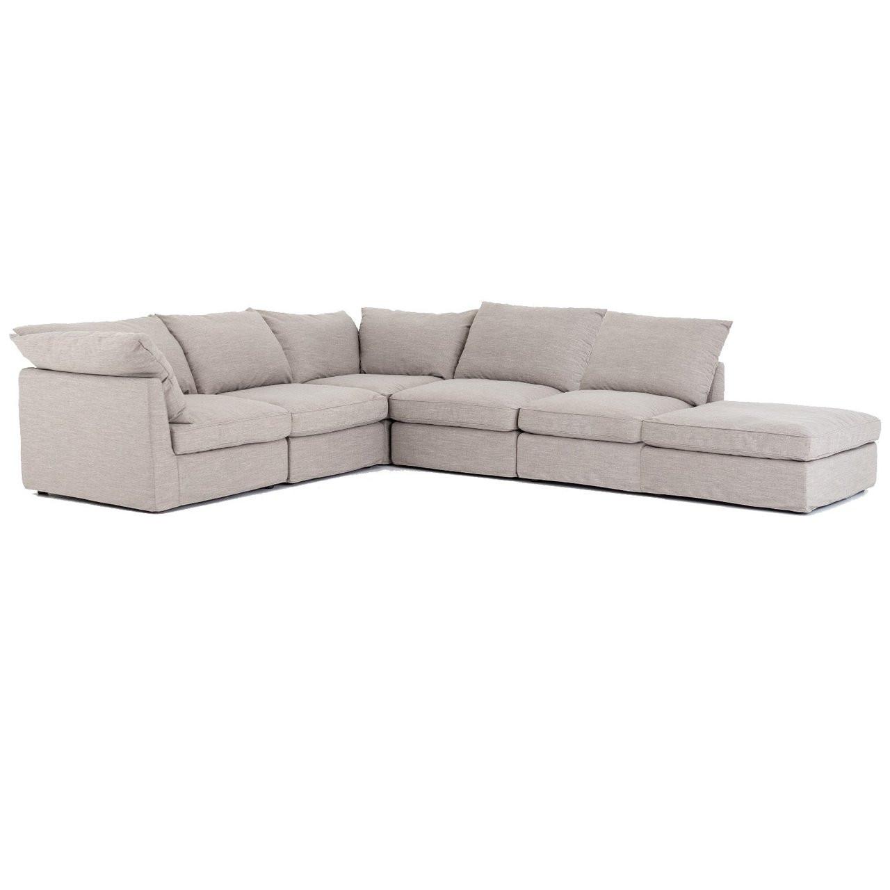 6 piece modular sectional sofa