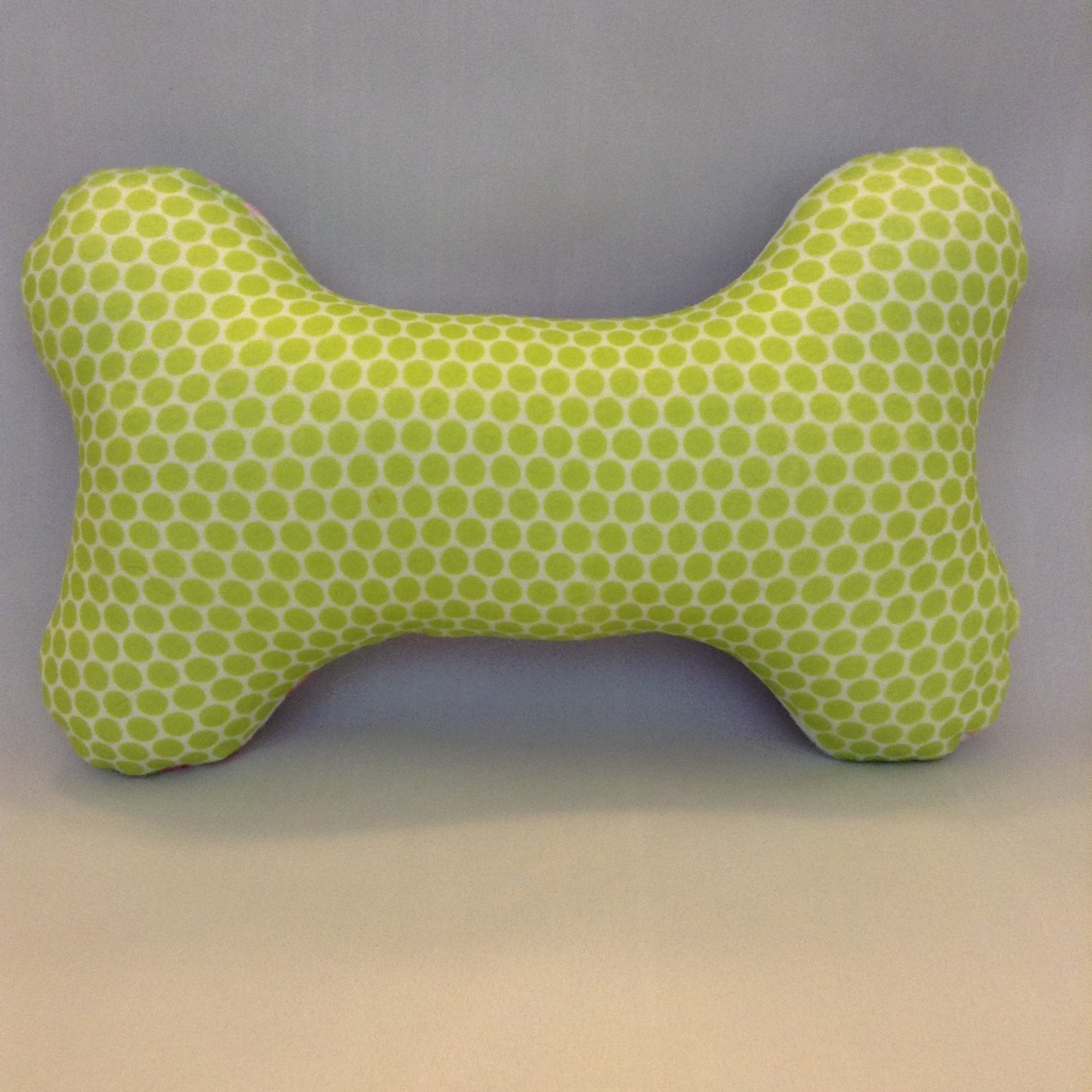 bone shaped pillow imprinted 5 designs personalized