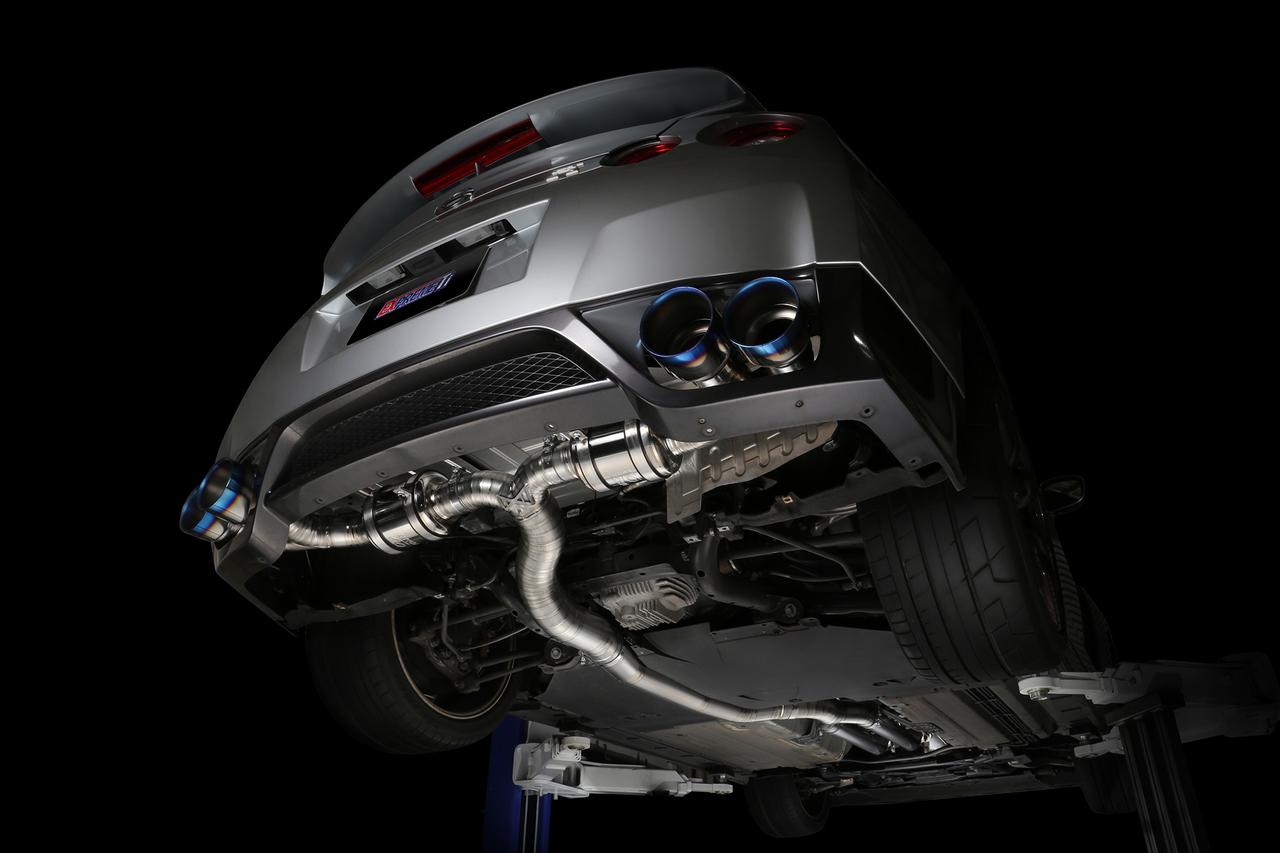 tomei expreme ti titanium exhaust system nissan gtr r35