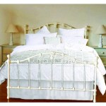 Double Claremont Wrought Iron Bed Antique White My Furniture Store Furniture And Bedding Super Store Australia