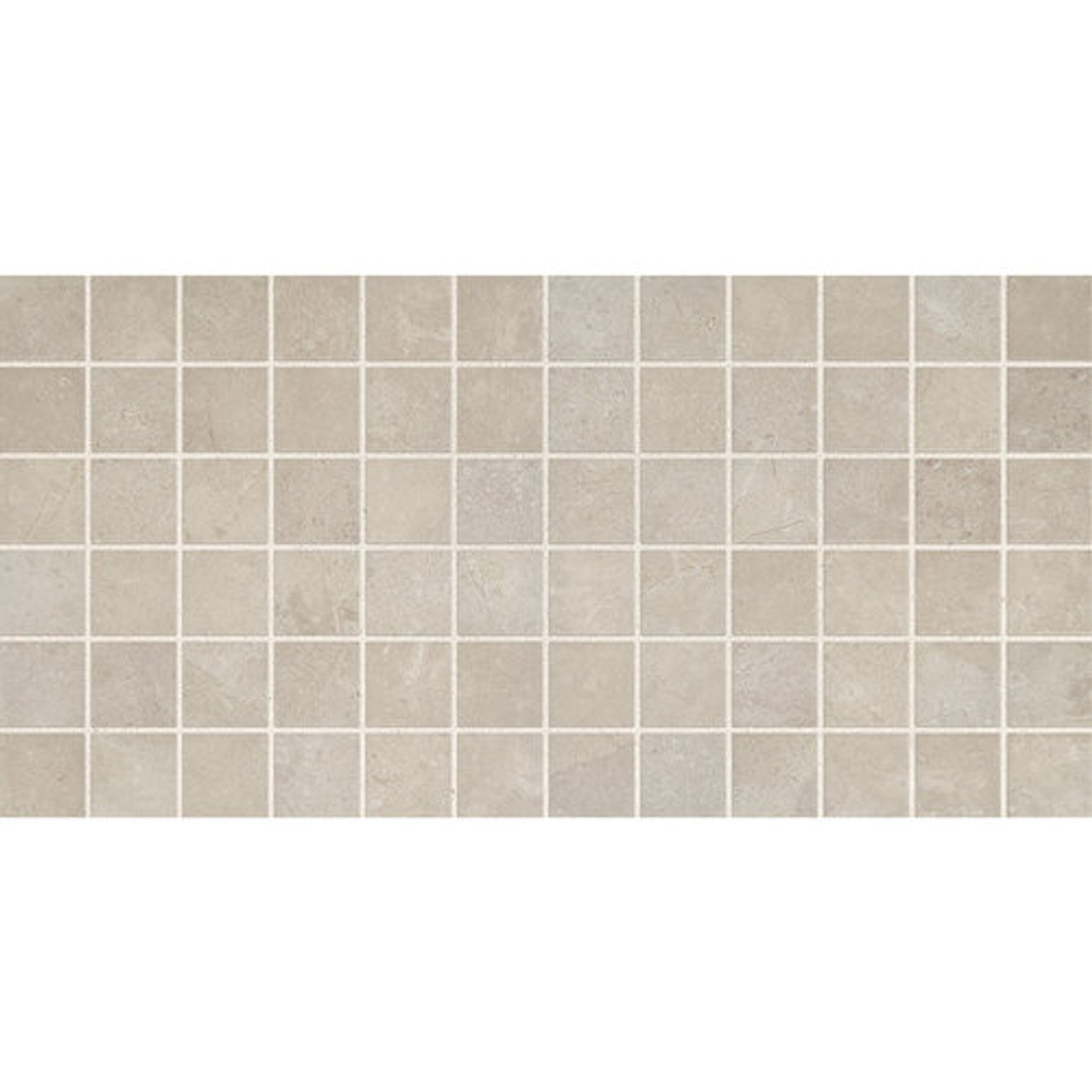 affinity gray ceramic mosaic 2x2