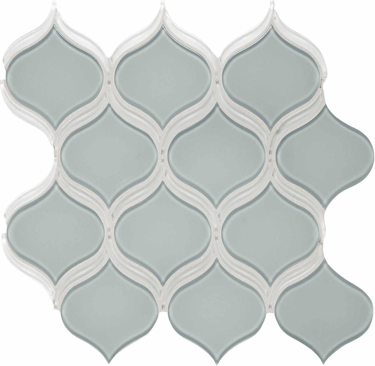 element cloud arabesque glass mosaic 12 17 x 11 46 sheet