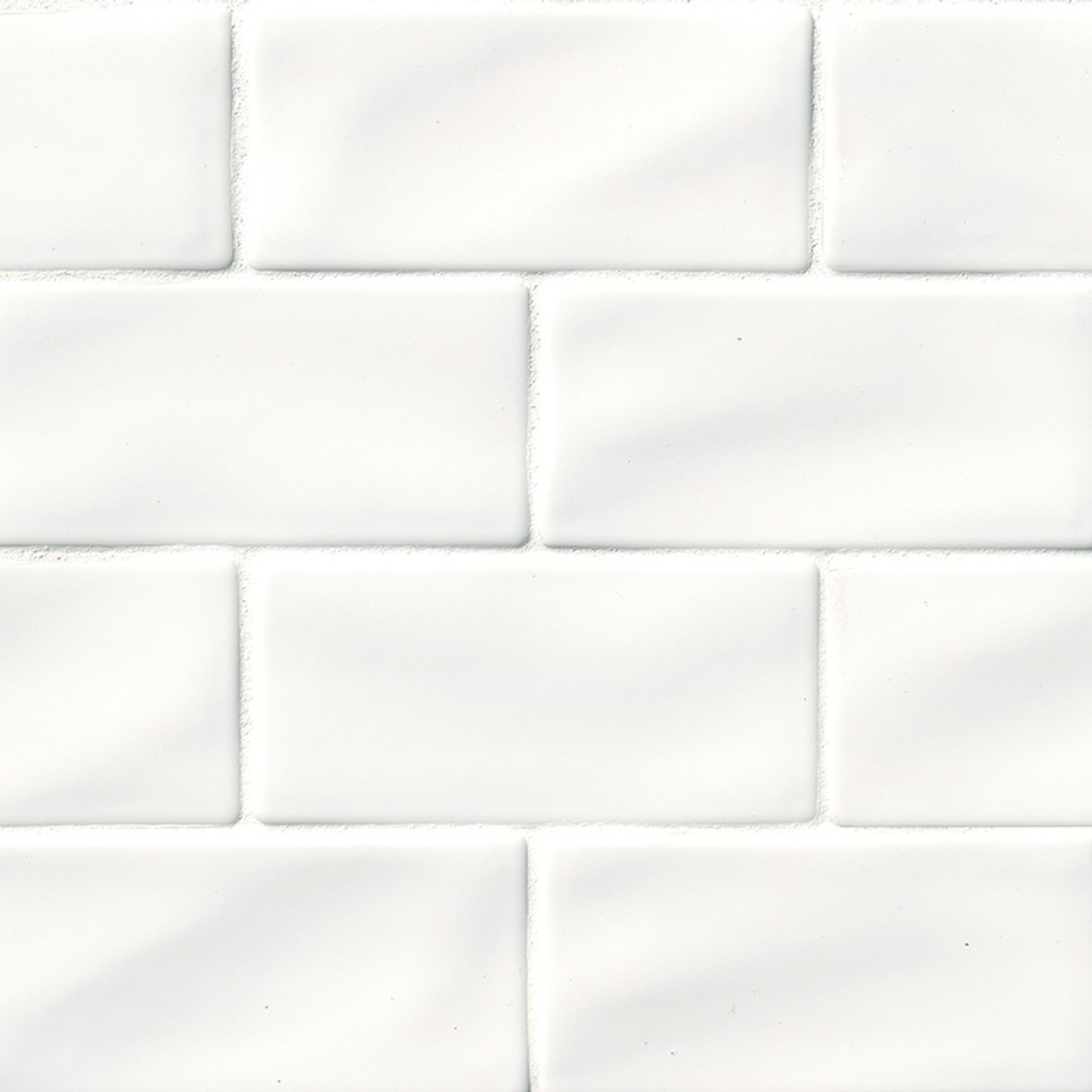 Highland Park Whisper White Subway Tile 3x6 Tiles Direct Store