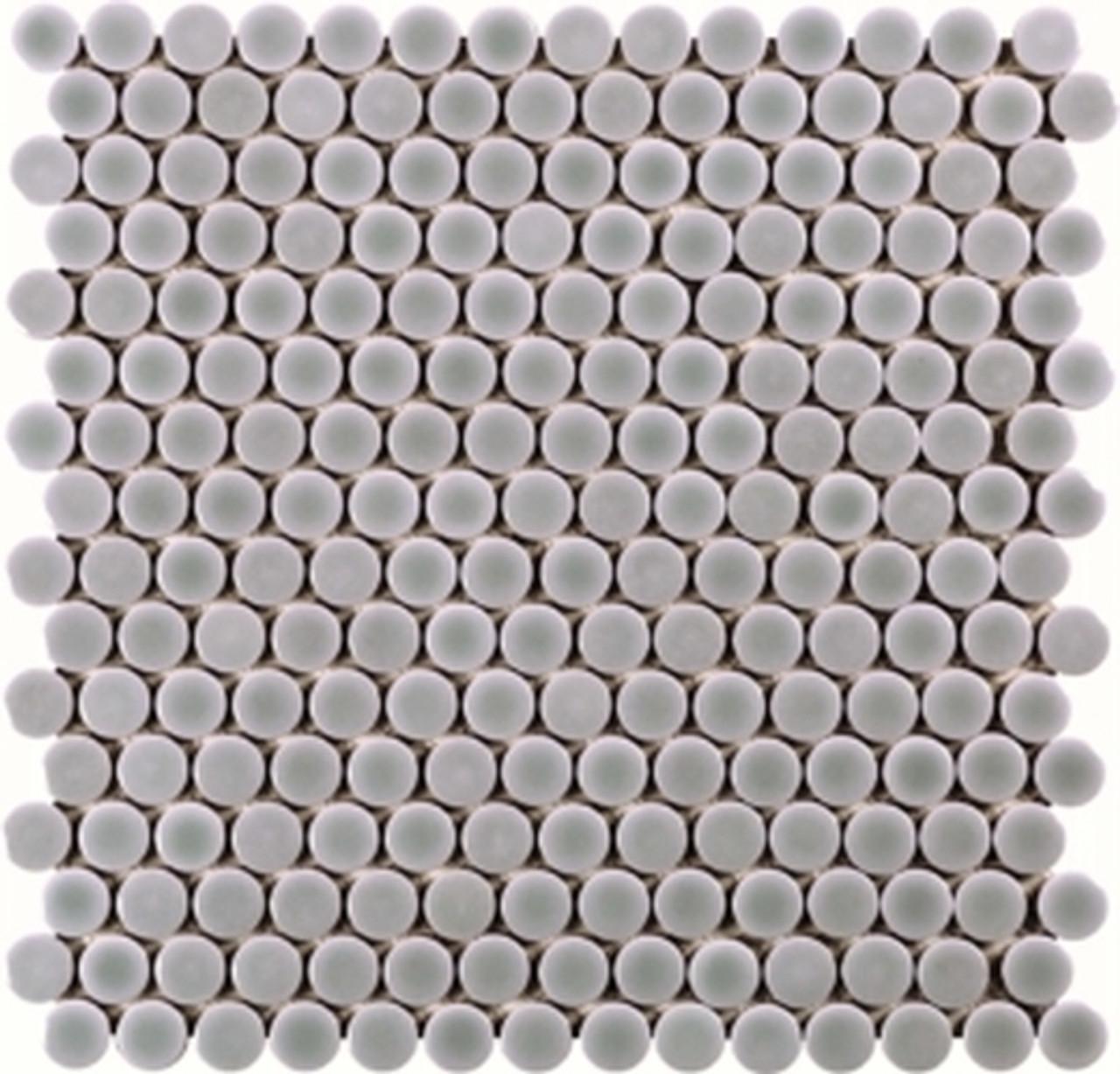 penny round light gray 3 4