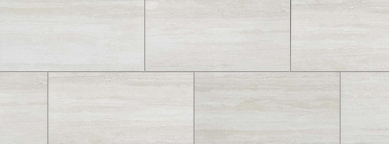 heritage white matte 12x24