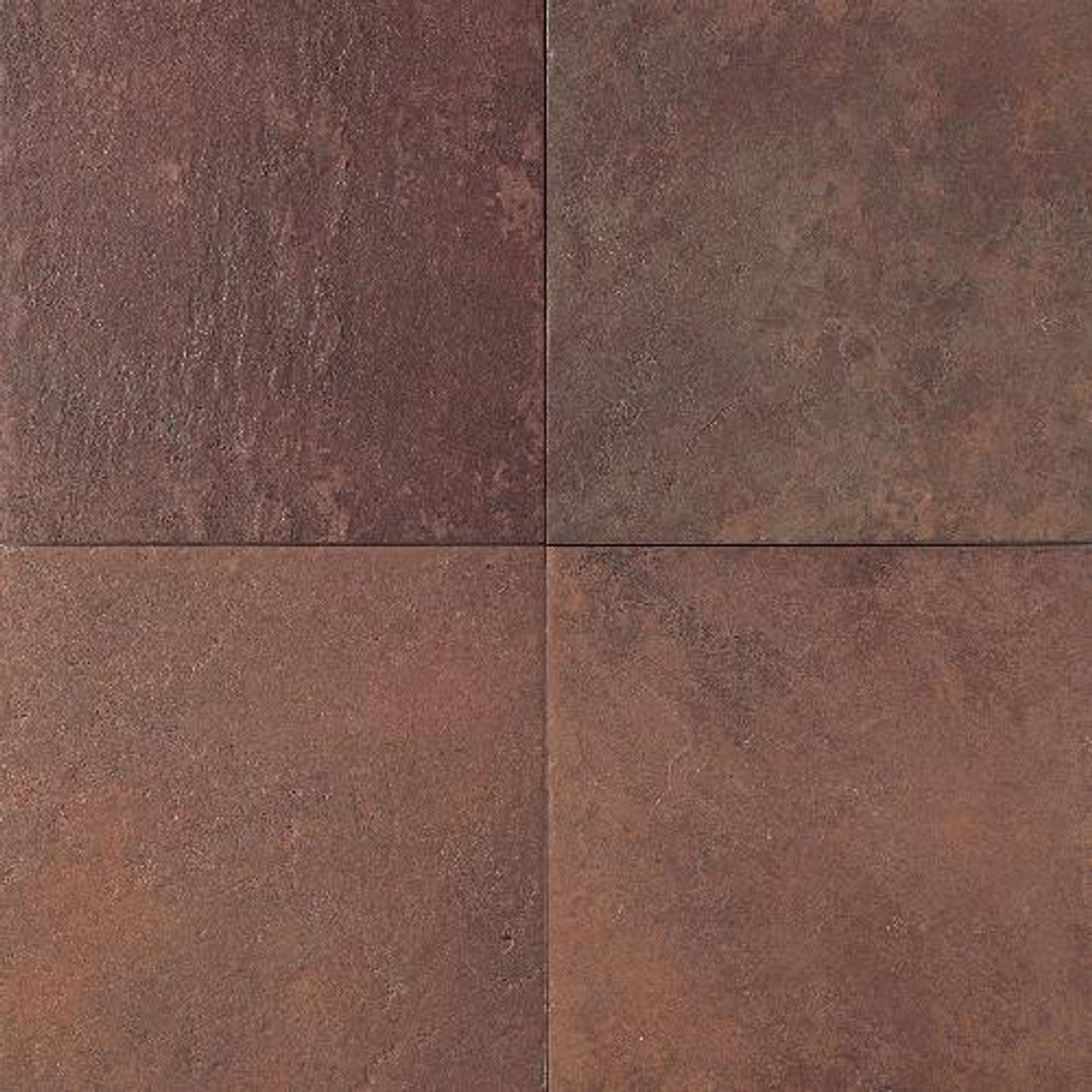 continental slate indian red 18x18