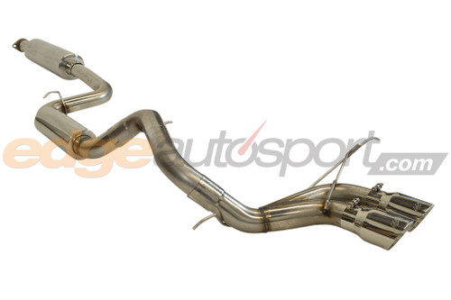 mbrp pro series cat back exhaust ford focus st 2013 2018