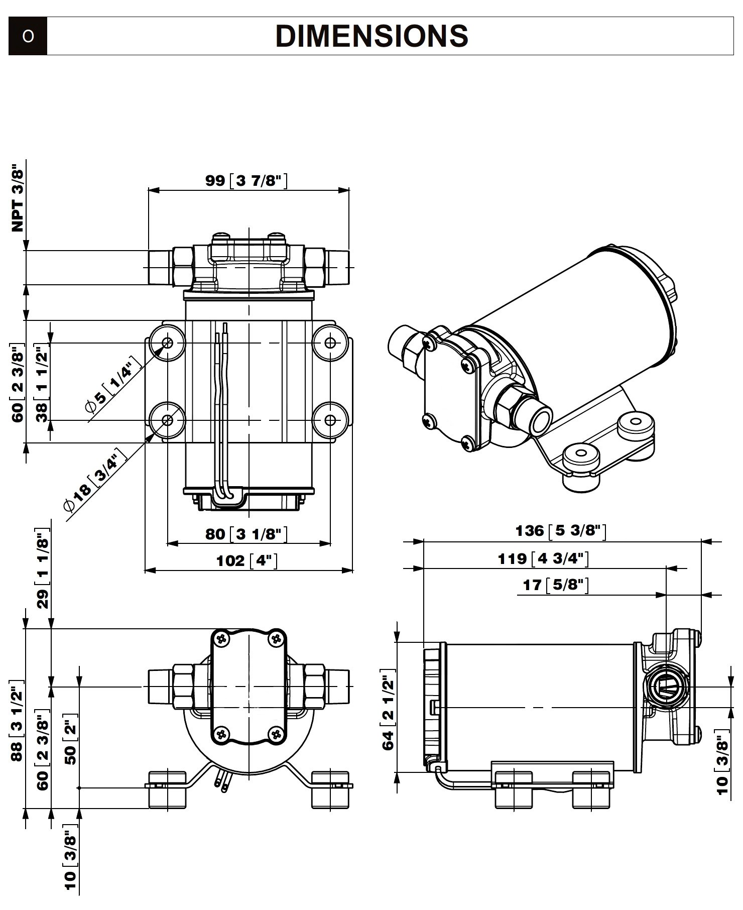 2 Gpm Gear Pump 12v For Motor Oilsel Fuel Or Water