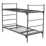 Military Metal Bunk Beds Square Tube Frame