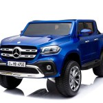 Mercedes Benz X Class Licensed 24v Electric 2 Seat Kids Ride On Jeep Eva Rubber Wheels 4 Wheel Drive Blue Www Funstuff Ie