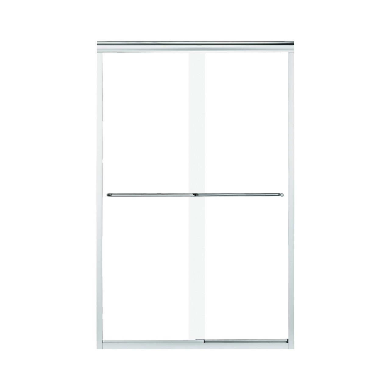Sterling 5475 48s G05 Finesse 42 625 To 47 625 In X 70 0625 In Frameless Sliding Alcove Shower Door With Clear Glass