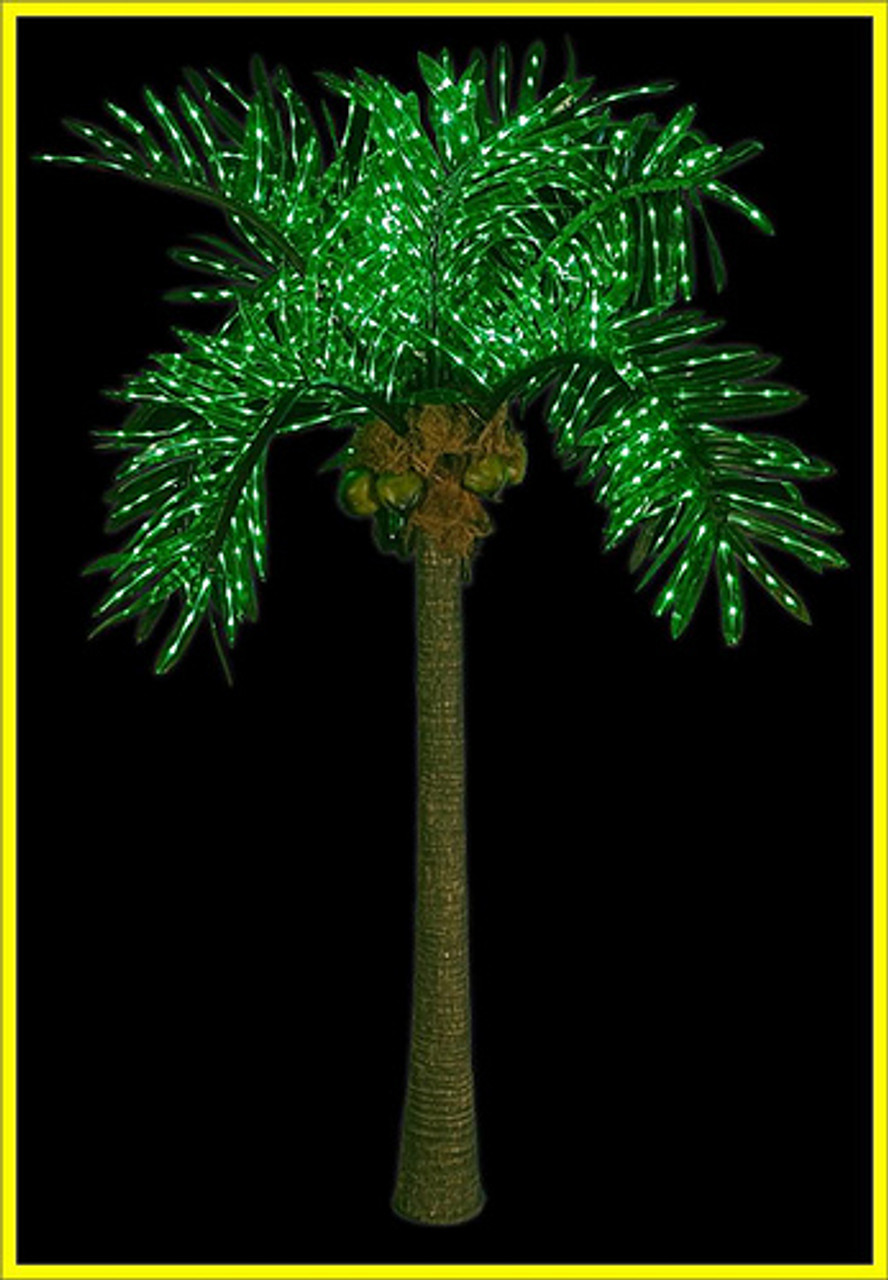 lighted palm tree 10ft led