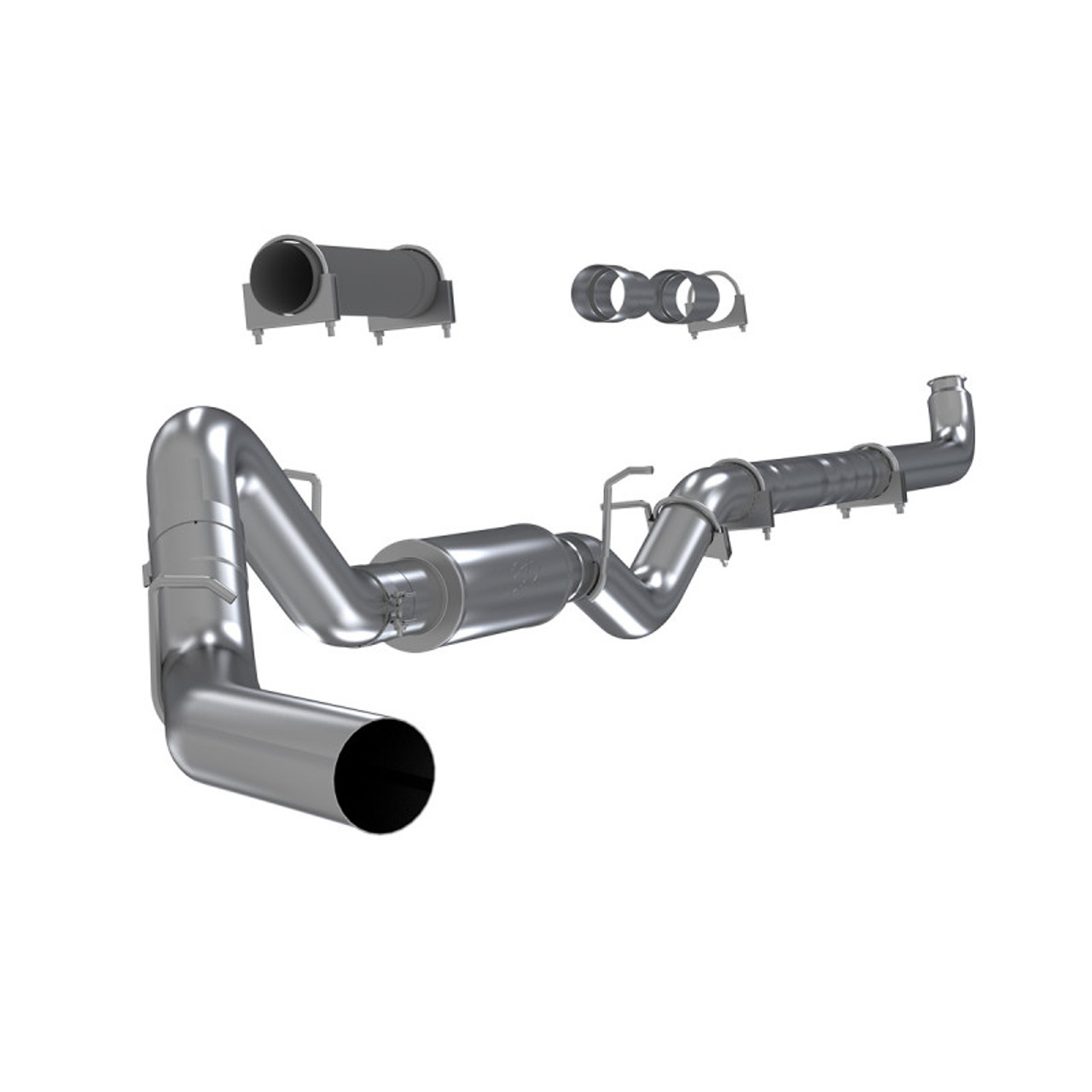 mbrp 4 exhaust 01 07 chevy gmc duramax diesel 6 6l lb7 lly lbz aluminized downpipe back