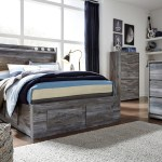 Baystorm Gray Full Panel Bed With 6 Storage Drawers On Sale At American Furniture Of Slidell Serving Slidell La