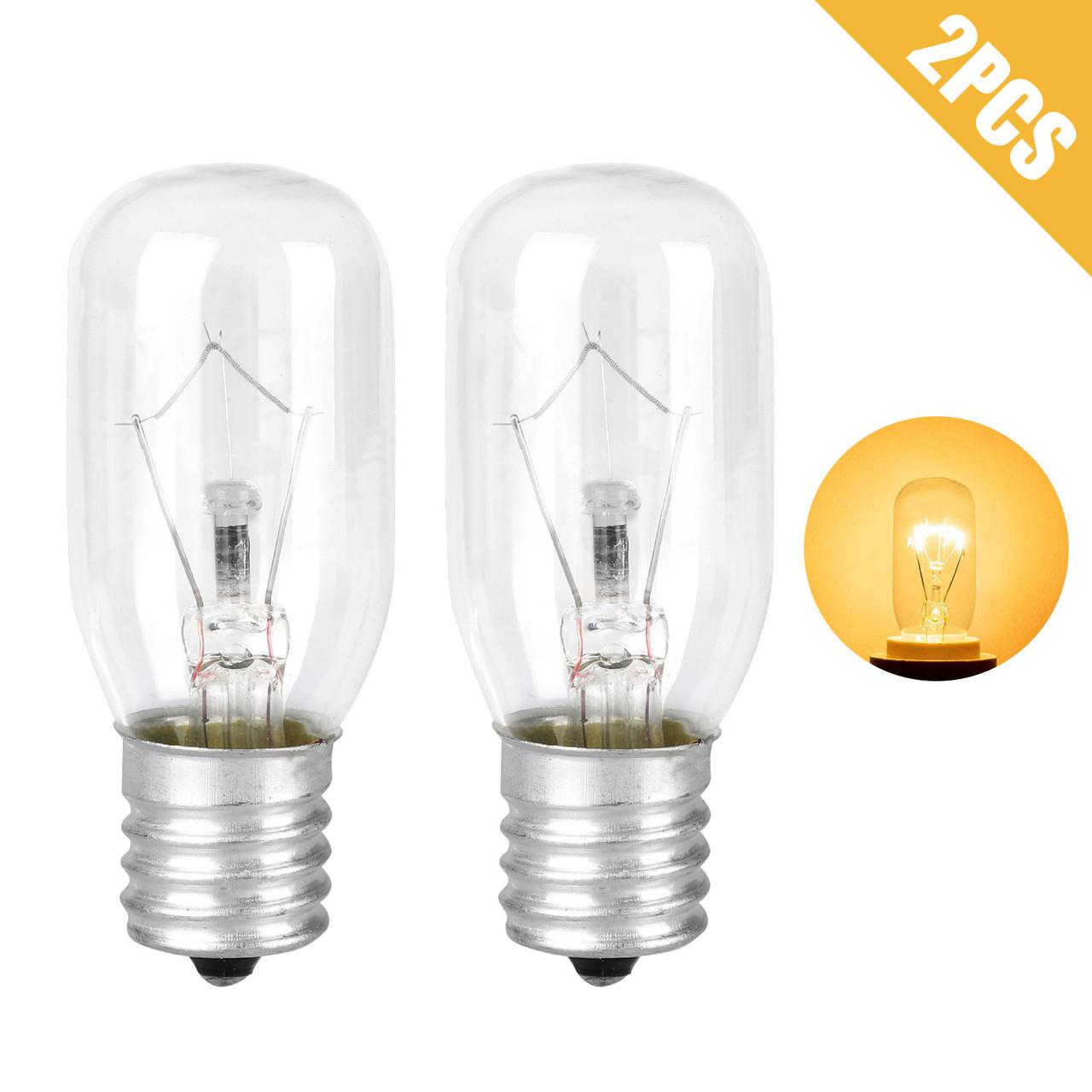 40 watt appliance light bulb light bulb for whirlpool microwave light bulbs e 17 connector type sockets warm yellow 2700k fits for most