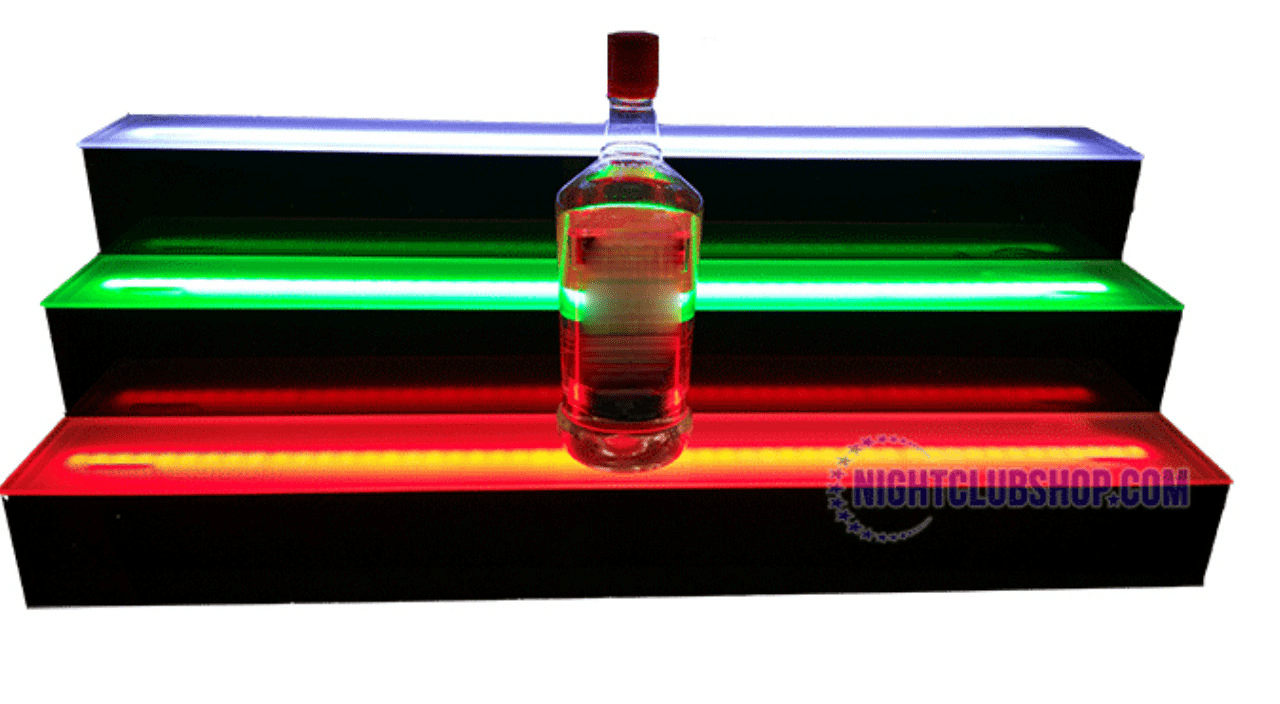 Led Liquor Shelves 4 Tier
