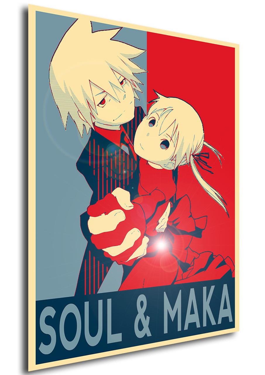 poster propaganda soul eater soul