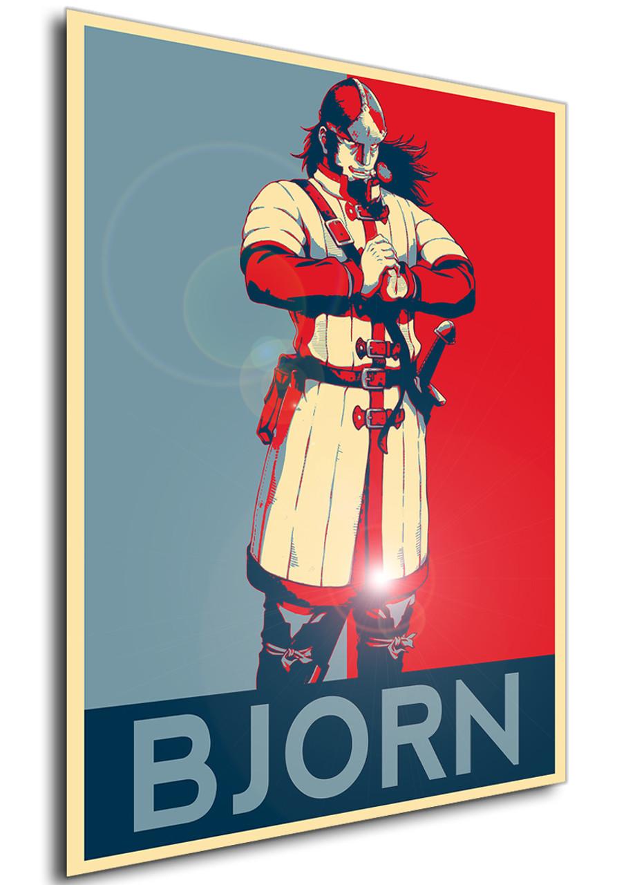 poster propaganda vinland saga