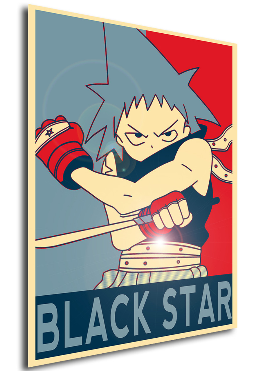 poster propaganda soul eater black star