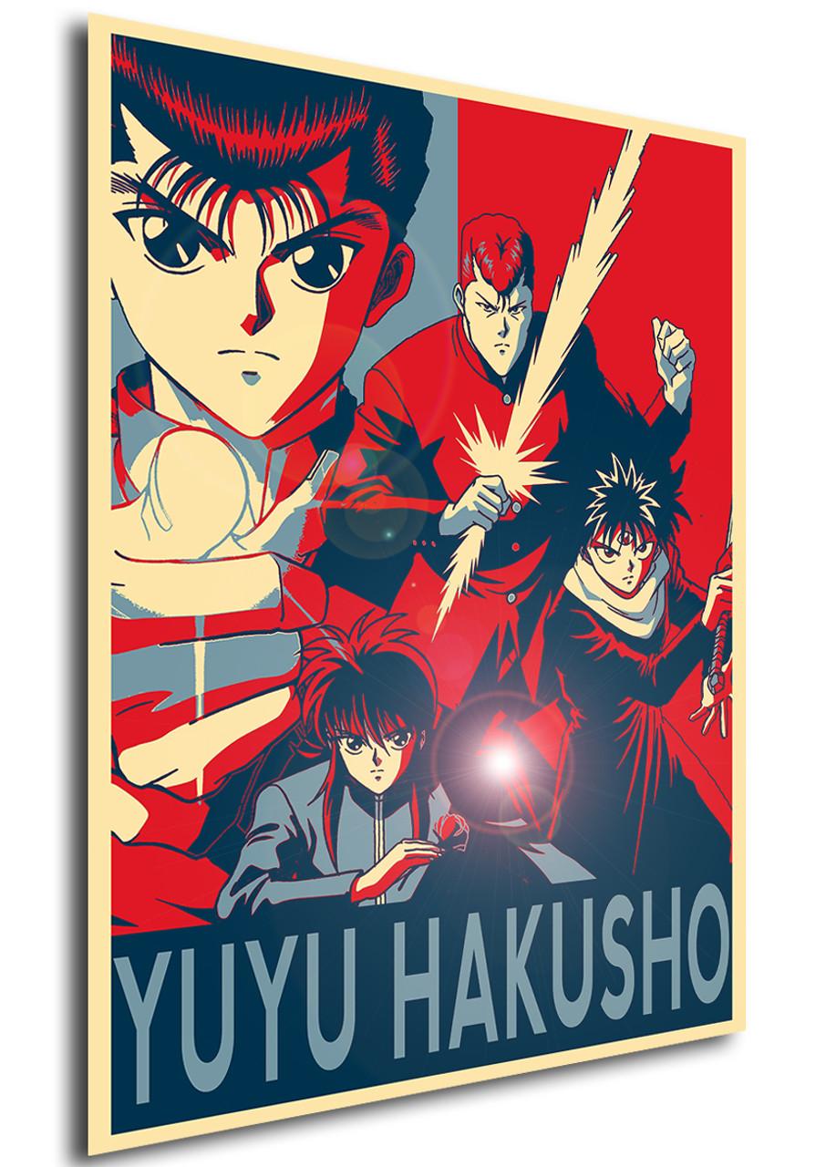 poster propaganda yu yu hakusho